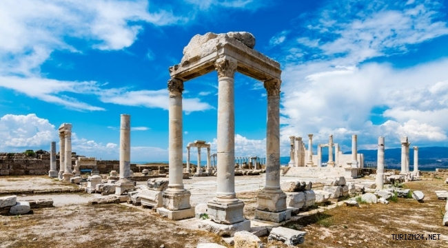 TÜRSAB Kültür Turizmi Sohbetleri Laodikeia Antik Kenti ile devam ediyor