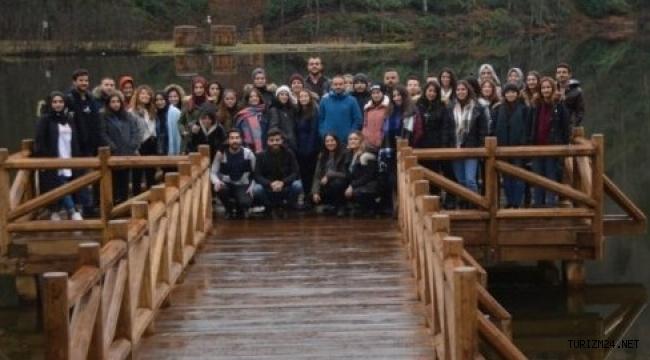 NEVÜ Turizm Rehberliği öğrencileri Doğu Karadeniz Turunda