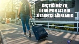 51 MİLYON 747 BİN ZİYARETÇİ