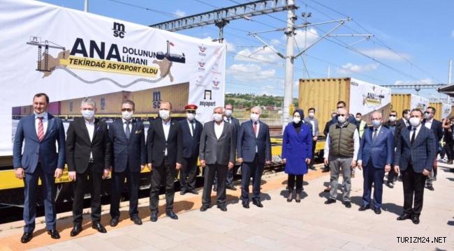 Tekirdağ Demiryolu Altyapısı ve Limanları Ulusal Ticarete Omuz Veriyor