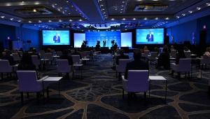 Hilton 2021'de Hızla Artması Beklenen Toplantı ve Etkinlik Talepleri için Hilton EventReady Hybrid Solutions'ı tanıttı.