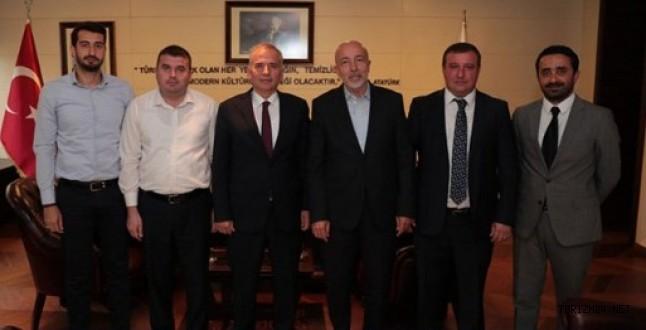 Başkan Köseoğlu, Zolan'ı ziyaret etti