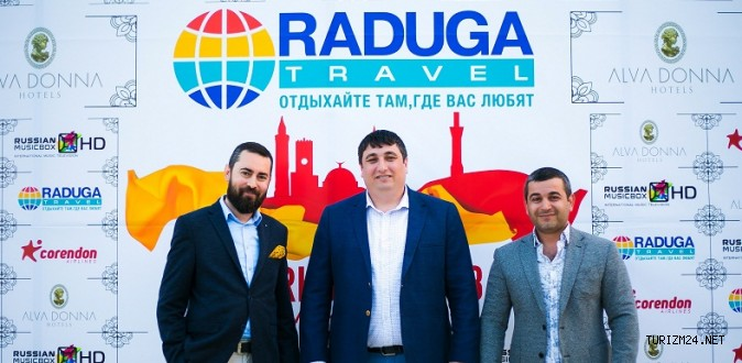 Corendon Airlines ile Raduga Travel işbirliğine imza attı.