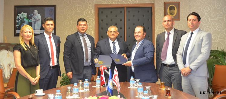 DAÜ ile Limak Cyprus Deluxe Hotel iş birliği protokolü imzalandı