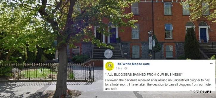 Dublin'deki otel, bedava konaklama isteyen bloggera rest çekti