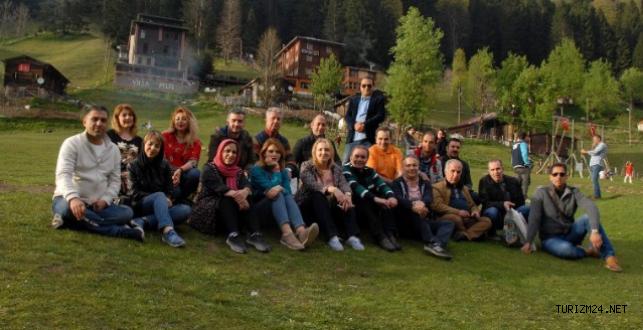 İranlı turizm acenteleri DOKA nın misafiri oldu