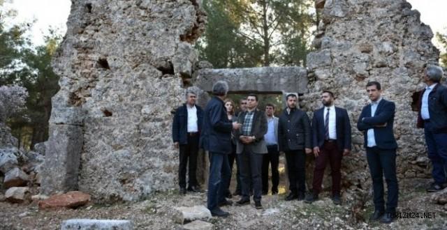 Lyrboton Kome , Antalya da ilk arkeopark olacak