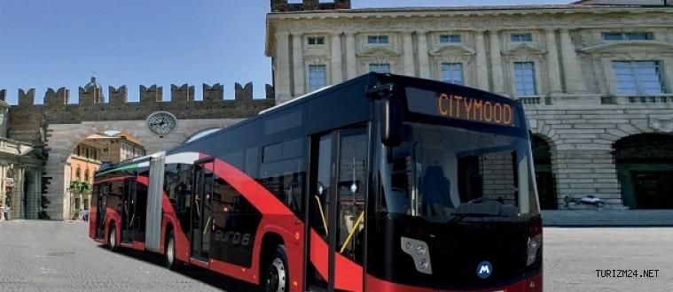 Romanya'daki 18 Metre Otobüs İhalesini KARSAN Kazandı