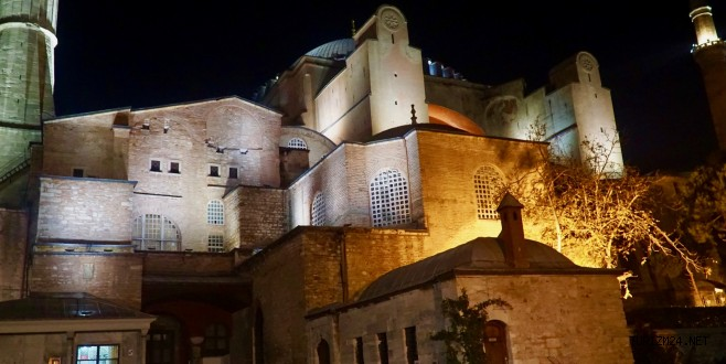 Setur ile Ayasofya Müzesi'nde gece turu