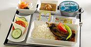 1950 de Uçakta Verilen Yemekler