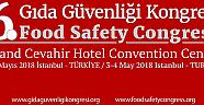 6. Gıda Güvenliği Kongresi MAYIS ayında