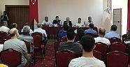 Adrasan'da Turizm Güvenliği Toplantısı Gerçekleştirildi