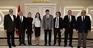 AKTOB'dan Başkan TÜRELİ'ye ziyaret
