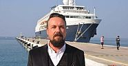Aziz Güngör : 120 bin turist, Kuşadası Yolcu Limanından giriş yapacak