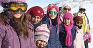Geleceğin kadın kayakçıları Bingölde yetişiyor