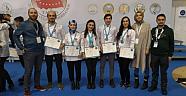 Nevşehir Hacı Bektaş Veli Üniversitesi öğrencilerinden 7 madalya