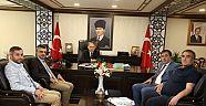 Tureb Başkanı Apalı'dan, Vali Doğanay'a Ziyaret