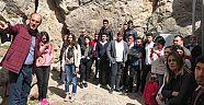 Turizm öğrencileri Alacahöyük 'ü tanıdı