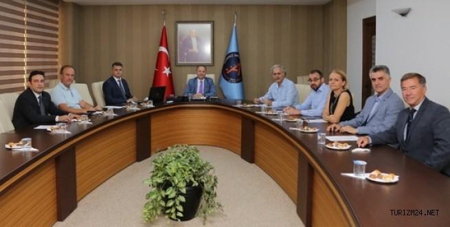 Turizm Akademi Kurulu Toplantısı Gerçekleştirildi.