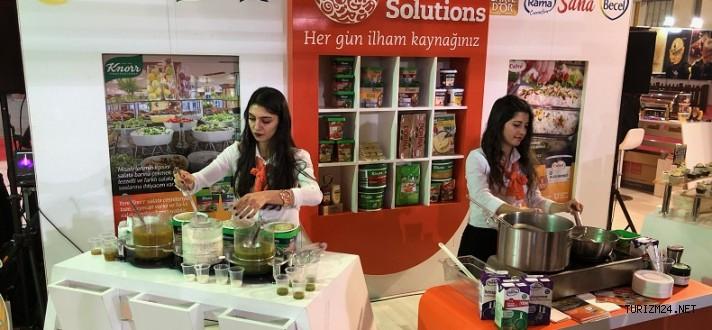 Unilever Food Solutions, Oteller için Yeni Çözümlerini tanıttı